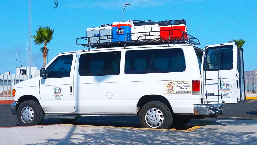 Sea of Cortez Sportfishing Package Ground Transportation Services ... Tailhunter International, La Paz Mexico ... Tecolte Fleet - Professional and Bonded Drivers ...